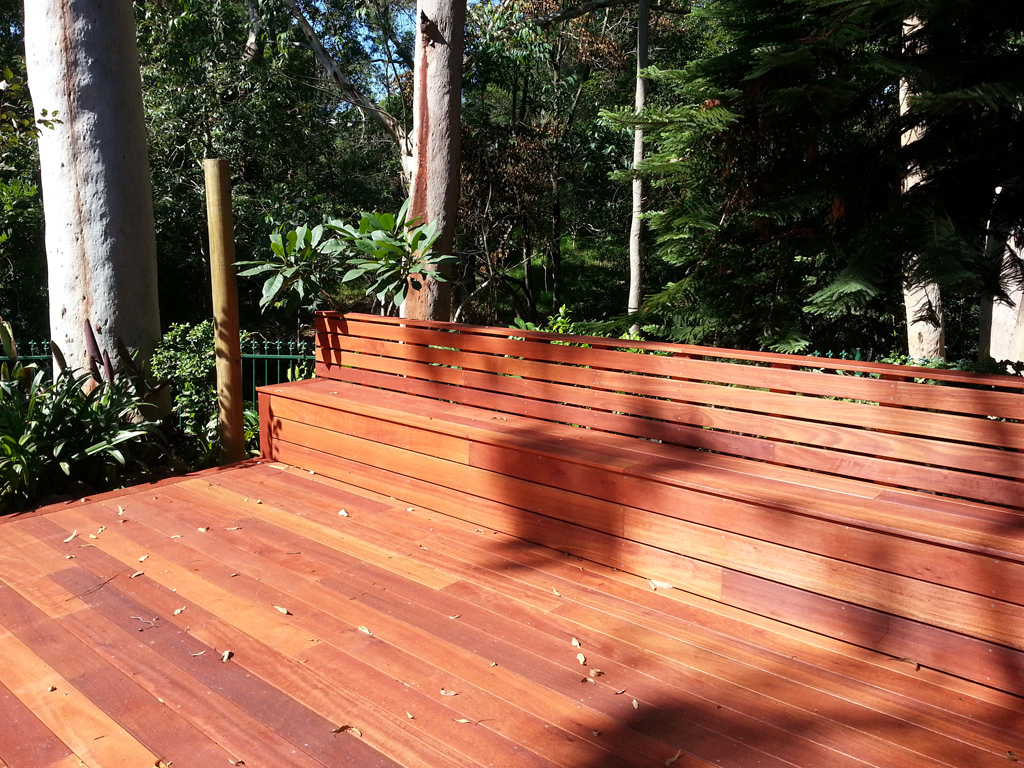 Timber Deck With Bench Seat And Hammock Ecodesign
